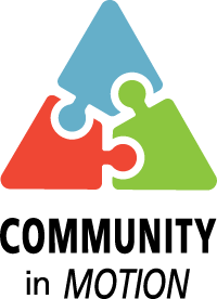 Community in Motion Awards logo
