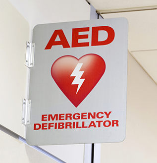 Automated External Defibrillator symbol