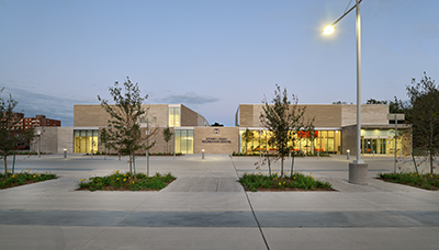Exterior of Stoney Creek Recreation Centre Building