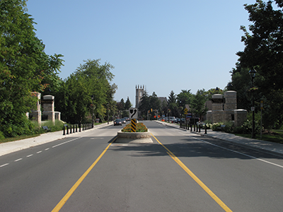 Ancaster Gateway Entrance Feature