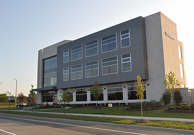 Exterior of Winterberry Office Building