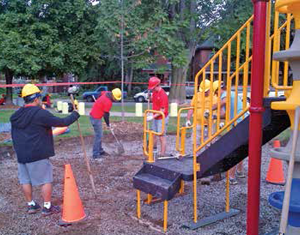 Extreme Park Makeover - Powell Park