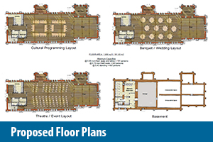 St. Mark's Proposed Floor Plans