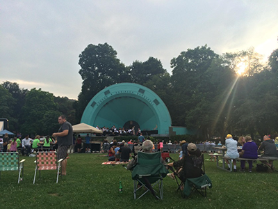 Seven Sundays at Gage Park bandshell
