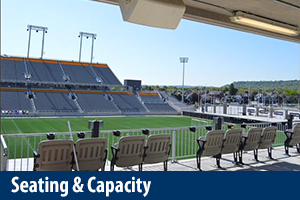 Tim Hortons Field Seating & Capacity