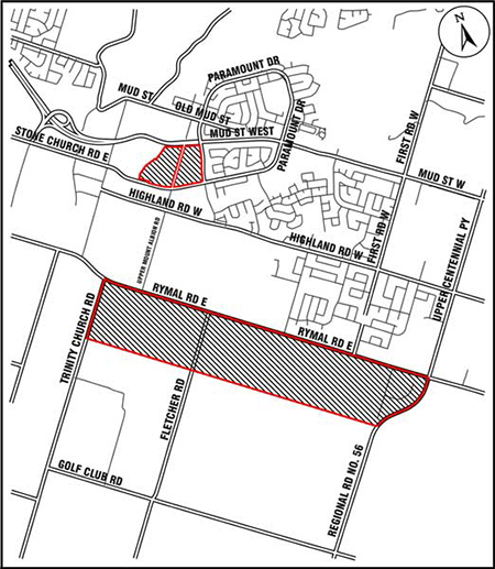 Rymal road planning area study ropa 9 city of hamilton ontario how the project is implemented ccuart Image collections