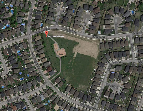 Google map of Carpenter Park
