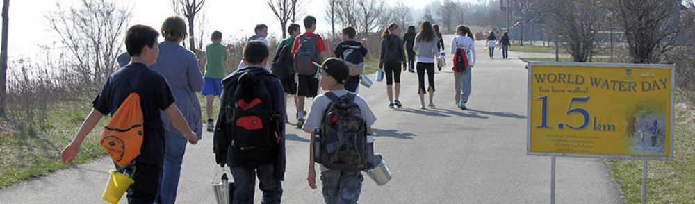 Hamilton Walks for Haiti - World Water Day Walkathon