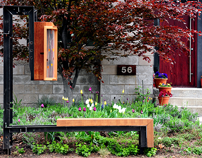 2015 UDAA Winner - North End Free Library and Public Bench