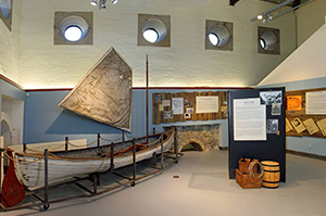Events at the Museum of Steam & Technology - Bastien Boat Exhibit