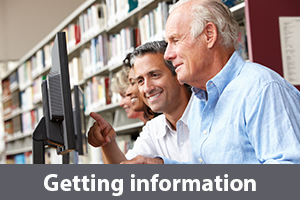 Getting information for Seniors