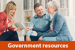 Government resources information for Seniors