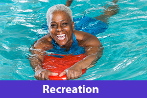Recreation information for seniors