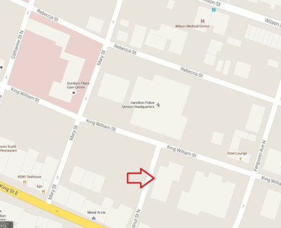 Map of Property for Lease - 162 King William Street