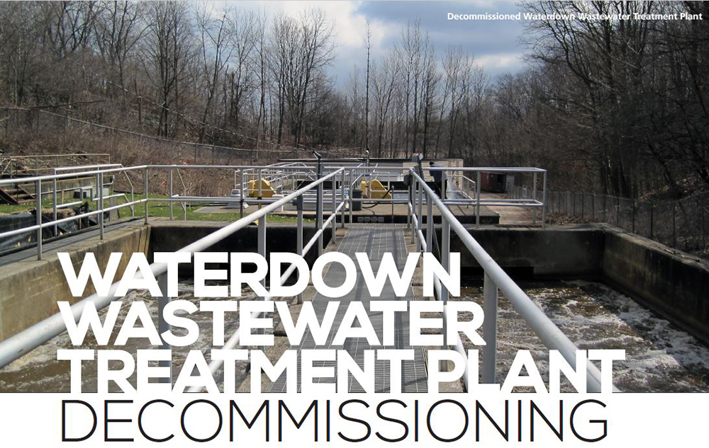 Waterdown Wastewater Treatment Plan Decommissioning