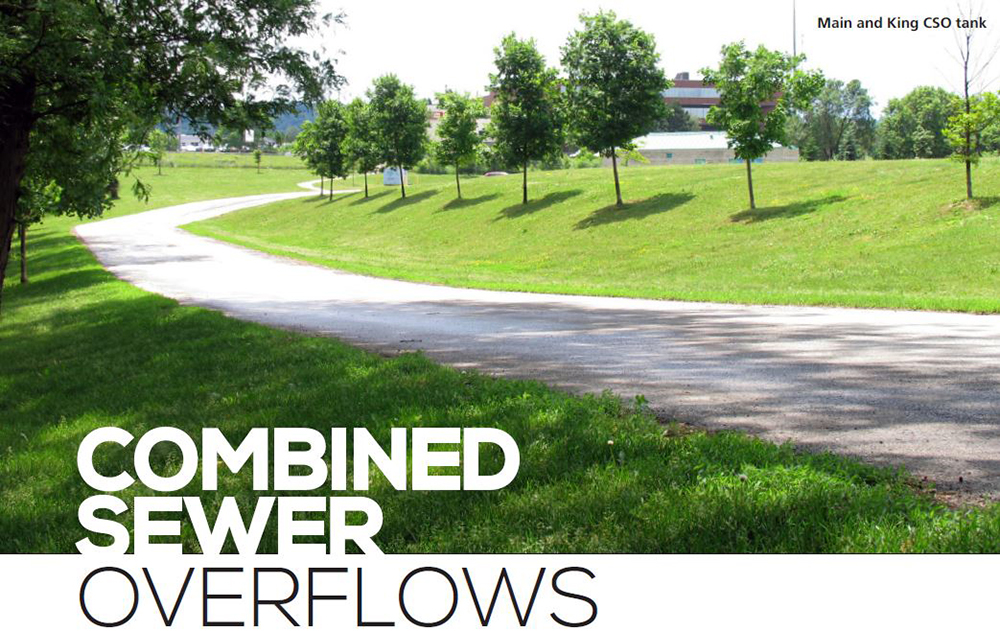 Combined Sewer Overflows - Main and King CSO tank