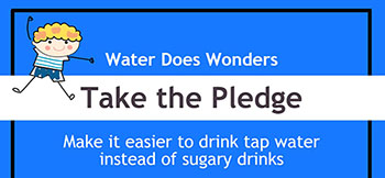 Water Does Wonders Pledge