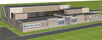 Tertiary Treatment Upgrades Building Rendering