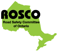 Logo for Road Safety Committee of Ontario (ROSCO)