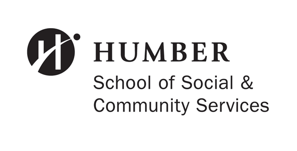 Humber logo with the tagline School of Social and Community Services