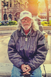 Photo of man in Gore Park