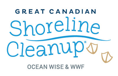 Logo that reads Great Canadian Shoreline Cleanup