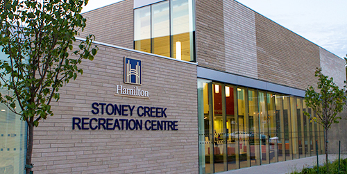Stoney Creek Recreation Centre exterior facility image