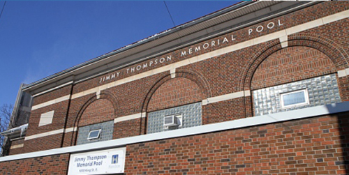 Exterior building image of Jimmy Thompson Pool