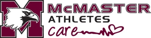 McMaster Athletes Care