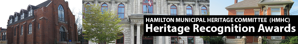Header for the HMHC Heritage Recognition Awards