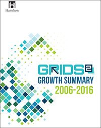 Cover of the GRIDS 2 Growth Summary 2006 - 2016