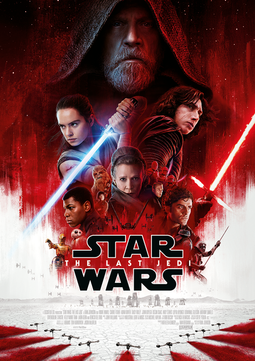 Star Wars - The Last Jedi Movie Poster