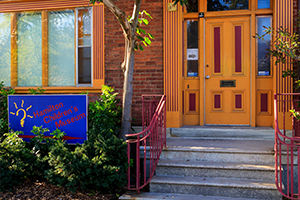 Exterior of Hamilton Children's Museum