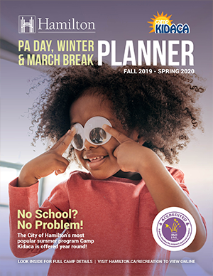 Fall 2018 - Spring 2019 PA Day, Winter & March Break Recreation Planner