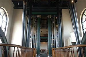 Interior of the Hamilton Museum of Steam and Technology