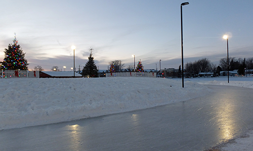 Image of skating loop at waterdown park