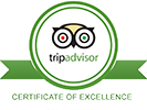 Certificate of Excellence logo for TripAdvisor, 2019
