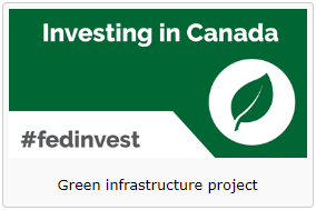 Investing in Canada Logo #fedinvest