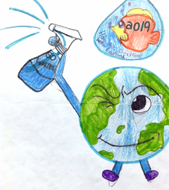 Winning logo 2019 Children's Water Festival