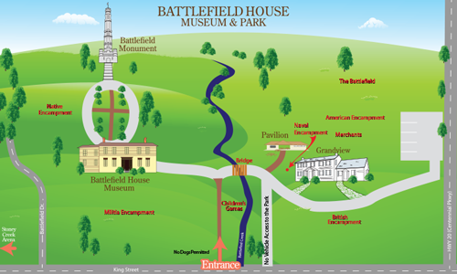 Battlefield Re-enacment Sitemap