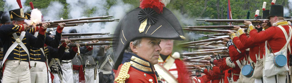 Image of re-enacment of the Battle of Stoney Creek