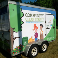 Community Clean-Up Trailer