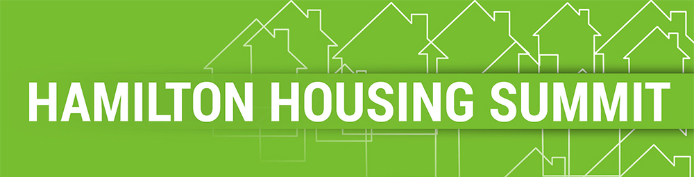 Hamilton Housing Summit promotion graphic