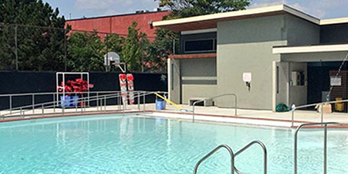 Birge Outdoor Pool Facility