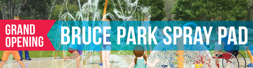 Bruce Park Spray Pad Grand Opening