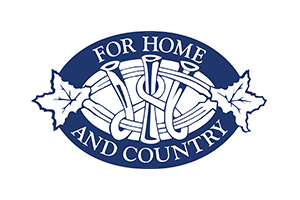 For home and country logo