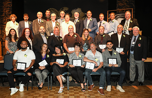 Group of 2019 Sport Volunteer Award Winners