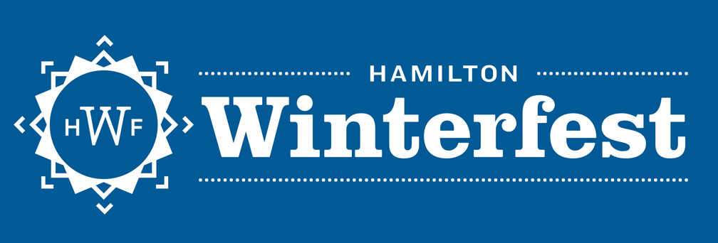 Promotional banner for Hamilton Winterfest