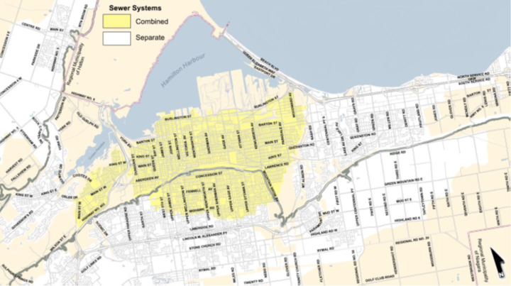 Sewer Systems Across Hamilton