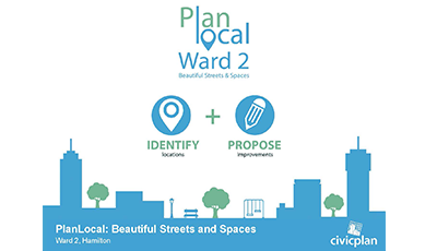 Promotion for Plan Local Project in Ward 2